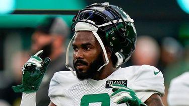 New York Jets wide receiver Elijah Moore at