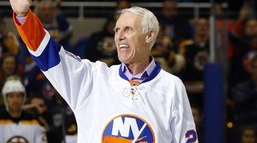 Islanders legend and Hockey Hall of Famer Mike