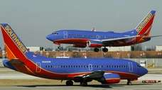 Executives running Southwest Airlines Co. and American Airlines