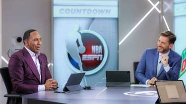 Stephen A. Smith and Mike Greenberg on the