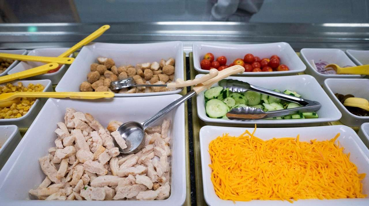 Cafeteria menus have changed in the Westhampton Beach