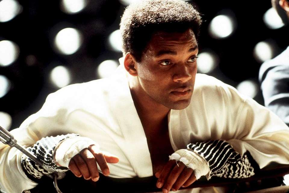 """Ali"" (2001) -- Will Smith played heavyweight champ"