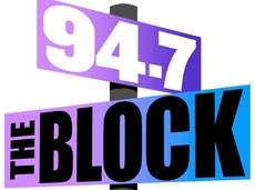 Logo for Audacy's new classic hip-hop station, 94.7/The