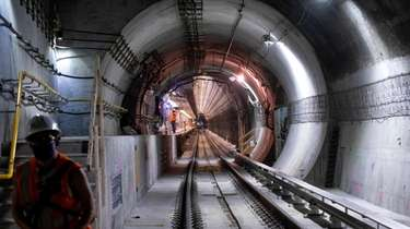 The $11.2 billion East Side Access project is