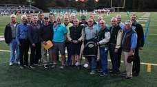 Members of the 1971 Farmingdale championship team on