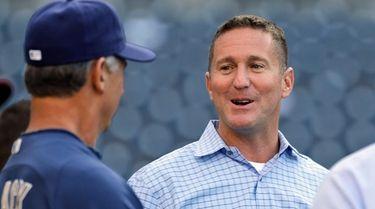 San Diego Padres general manager Josh Byrnes talks