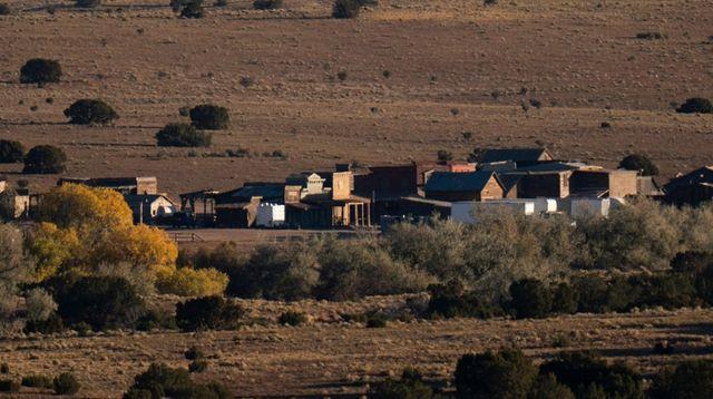 The Bonanza Creek Film Ranch is seen in