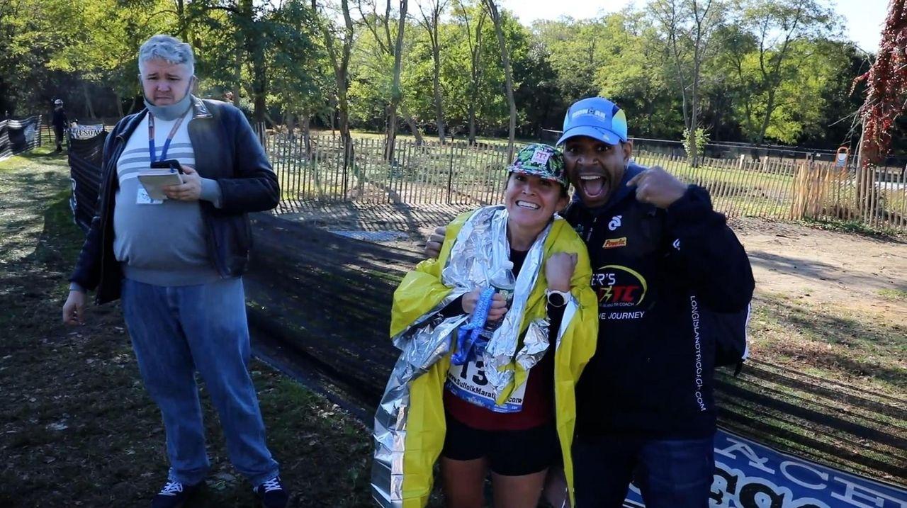 The 2021 Suffolk County Marathon was run Sunday,