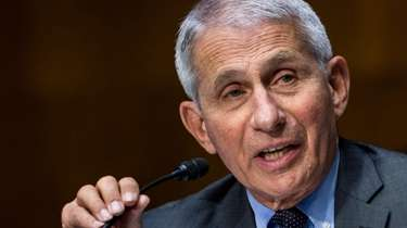Dr. Anthony Fauci expressed optimism on Sunday about