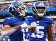 Dante Pettis #13 of the New York Giants