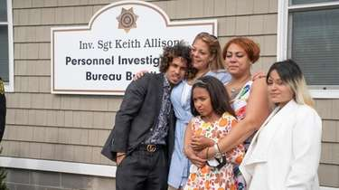 The family of Sgt. Keith Allison, who died