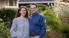 Elise Sheridan's husband James noticed the left side