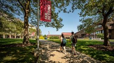 Stony Brook University said preliminary data shows enrollment