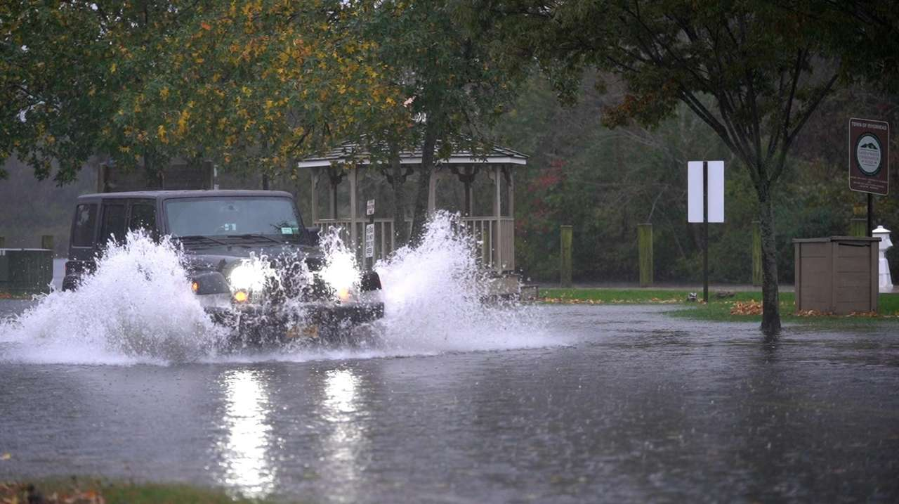 A nor'easter hit the tri-state region Tuesday and