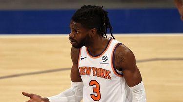Nerlens Noel #3 of the New York Knicks
