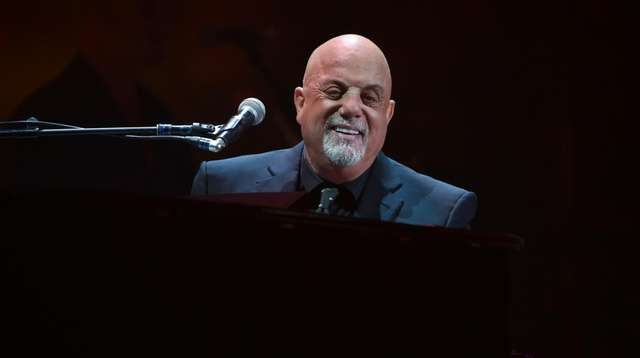 Billy Joel performs during his 100th lifetime performance