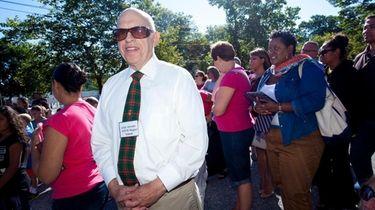 Jack Abrams attends the celebration ceremony on the