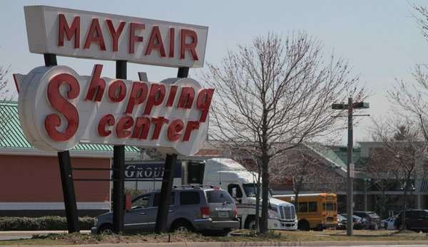 The Mayfair Shopping Center in Commack. (March 29,