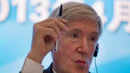 Diplomat Robert Hormats, the U.S. undersecretary of State