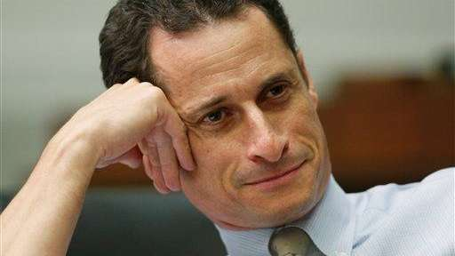 Anthony Weiner on Capitol Hill in Washington.
