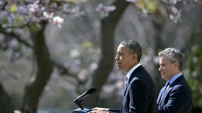 President Barack Obama speaks in the Rose Garden