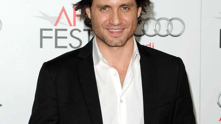 Edgar Ramirez arrives at the