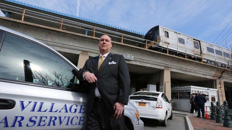 David O'Neill, owner of Village Car Service, at