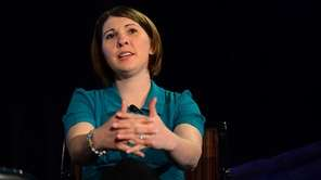 Katie Beers speaks during the EAC's