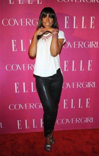Kelly Rowland attends the 4th Elle Women in
