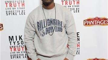 Ray J arrives at the premiere of
