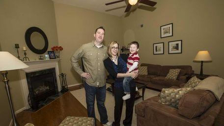 Jeff and Toni Sabatini with their son, Nicholas,