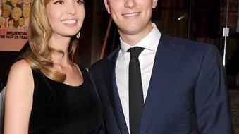 New York Observer publisher Jared Kushner and wife