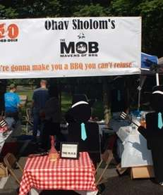 The Mob, a team from Congregation Ohav Sholom