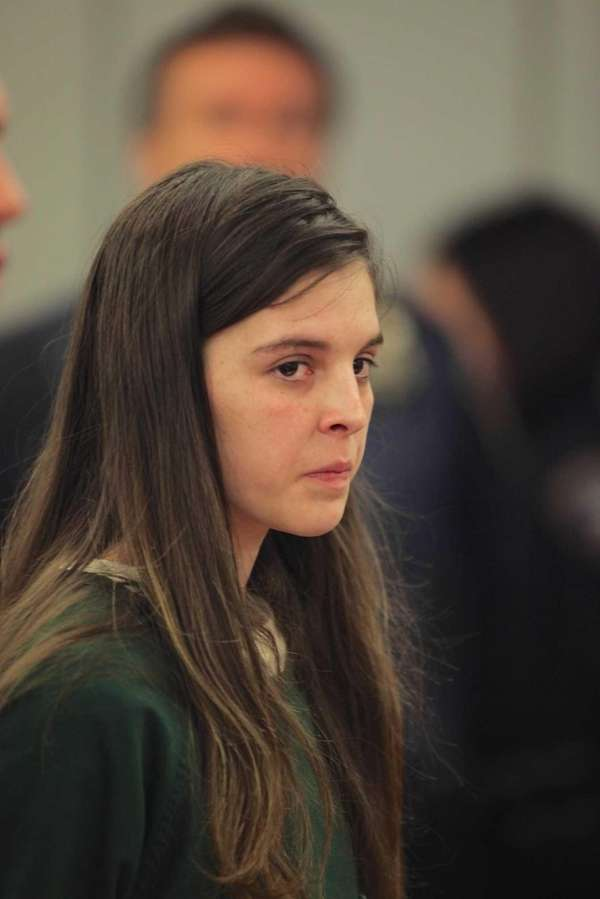 Brittany Ozarowski, 21, appears in court in Central