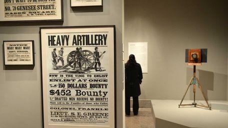 American Civil War-era enlistment posters and