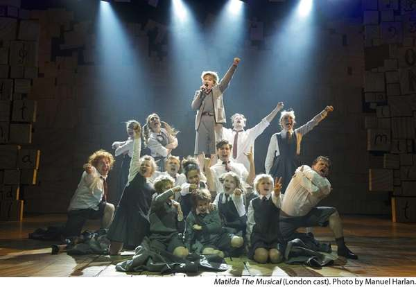 "Roald Dahl's ""Matilda The Musical."""