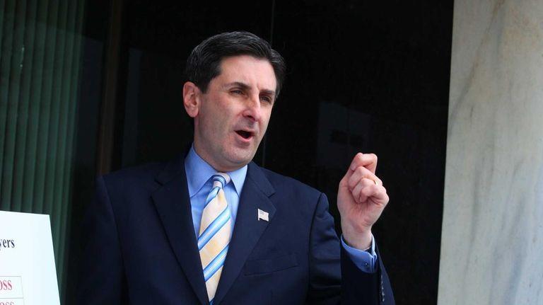 Nassau Legislator Wayne Wink, a candidate for Nassau