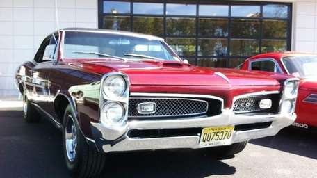 This 1967 Pontiac GTO hardtop is owned by