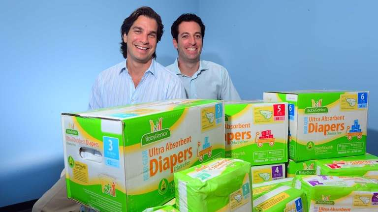 (L-R) Keith Garber and Kevin Schwartz, founders of