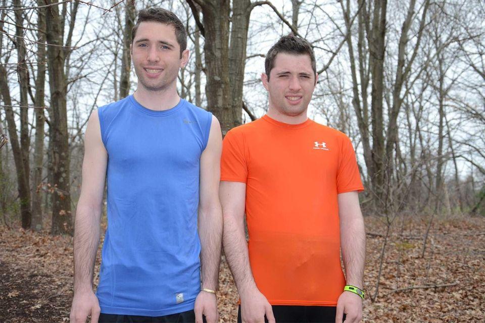 Great Neck twins Alex, left, and Jamie Schneider,