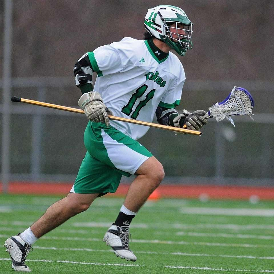 Farmingdale's Trevor Corrao heads to the sidelines after