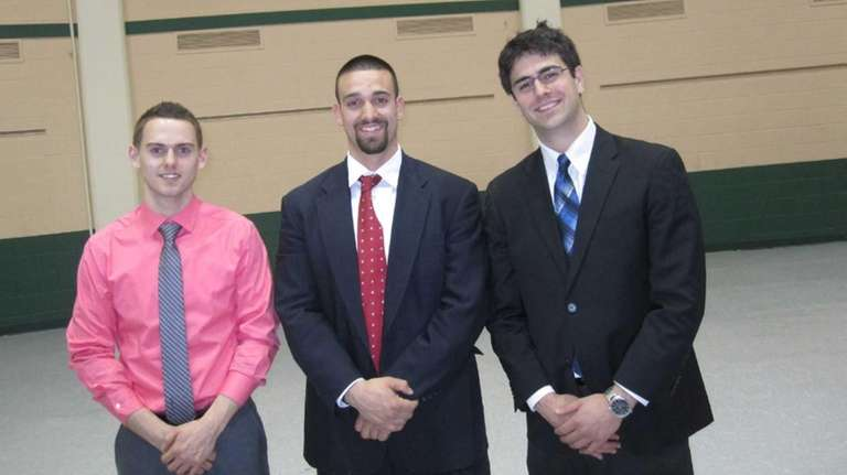 The winners of the Stony Brook biz competition