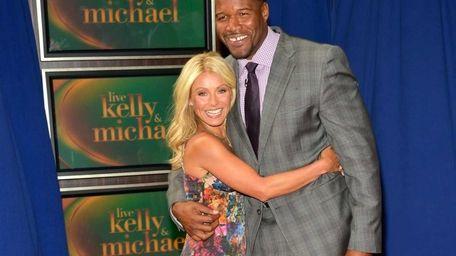 Kelly Ripa and Michael Strahan appear at Lincoln