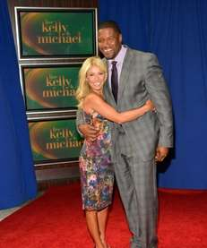 Kelly Ripa and Michael Strahan appear at Lincoln