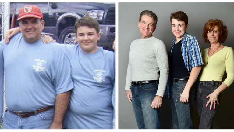 Losing weight became a family affair for the