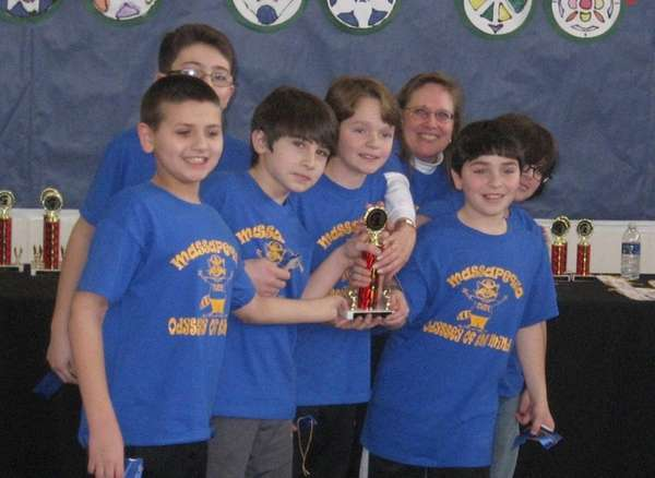 A team from McKenna Elementary School in Massapequa