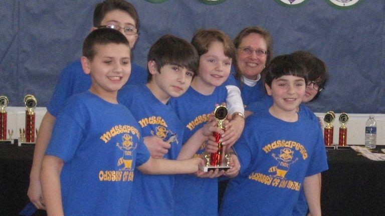 A team from McKenna Elementary School in Massapequa