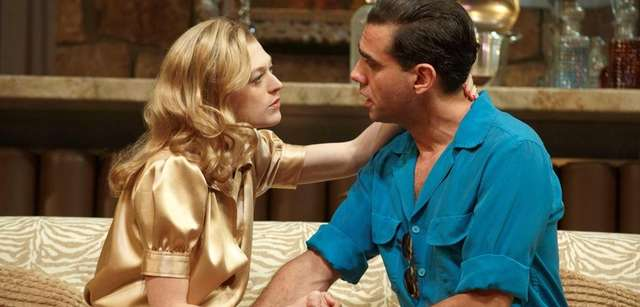 Marin Ireland and Bobby Cannavale in the Roundabout