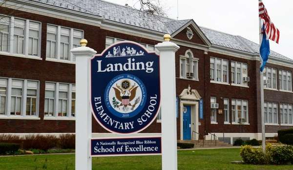Landing Elementary School in Glen Cove. (April 12,
