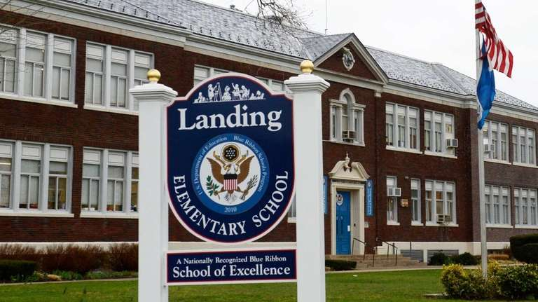 Landing Elementary School in Glen Cove on April